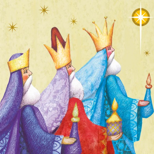 Christmas Card - Bearers of Gifts