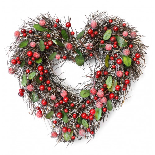Christmas Card - Loving Wreath