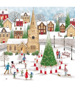 Christmas Card - Church Square