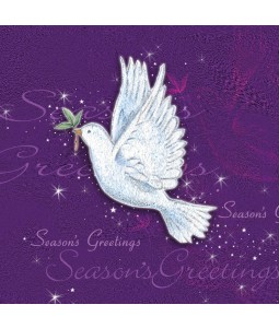 Charity Christmas Card - Dove in Flight