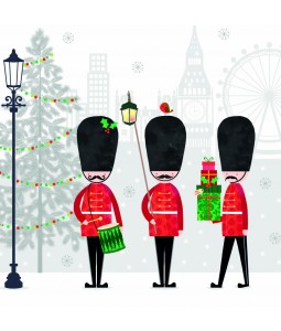 Christmas Card - London Marching