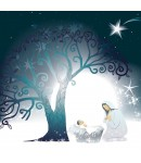 Christmas Card - Mother and Child