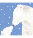 Christmas Card - Polar Bears