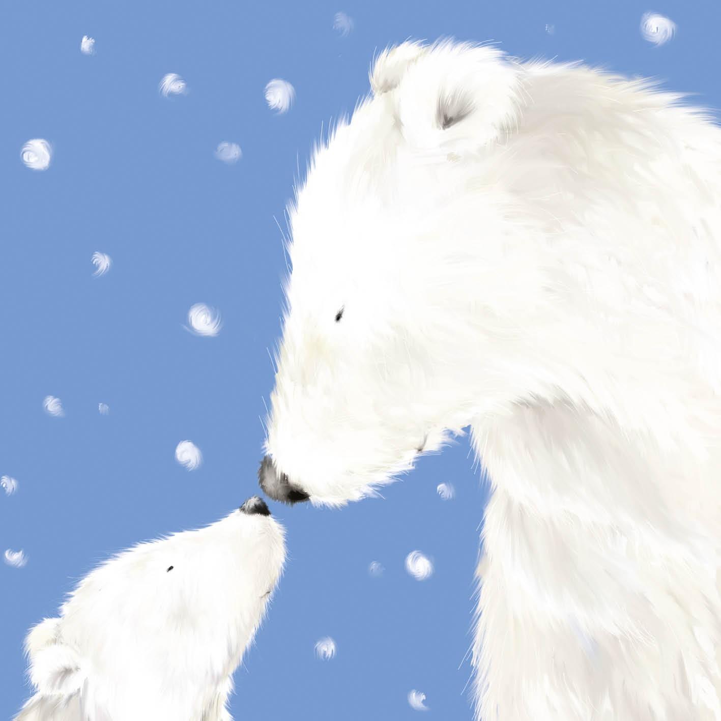 Polar Bears - Christmas Card - Charity Cards